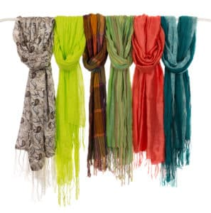 Store Scarves - Rack